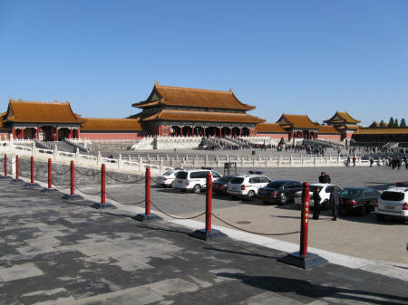 Forbidden City (Gate of Supreme Harmony)