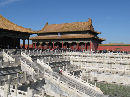 Hall of Preserving Harmony in the Forbidden City